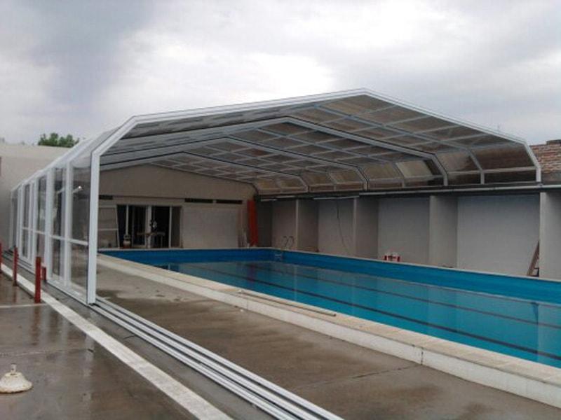 Cerramientos m viles grandes obras for Medidas piscina semiolimpica
